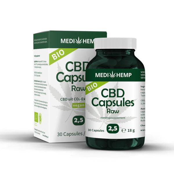 Medihemp CBD Capsules 2,5%