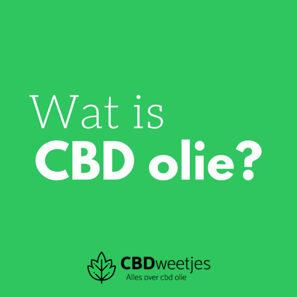 Wat is CBD precies?